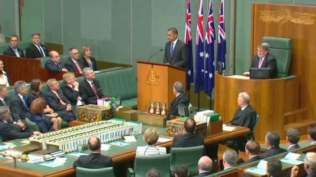 Obama: U.S., Australia bonds
