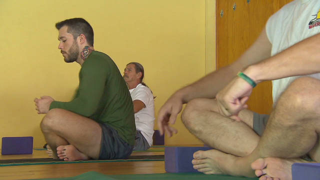 Yoga healing the wounds of war