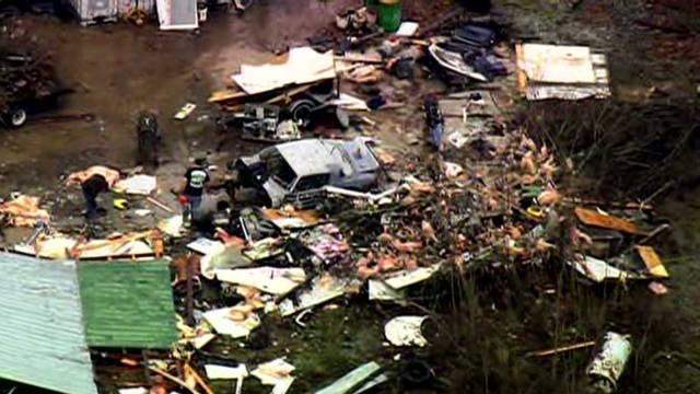 NC tornado leaves debris for 7 miles