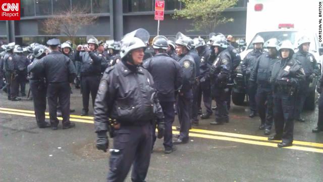 Nueva York: iReporteros en Wall Street
