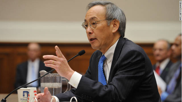 Energy Secretary Steven Chu is resigning from President Obama's cabinet.