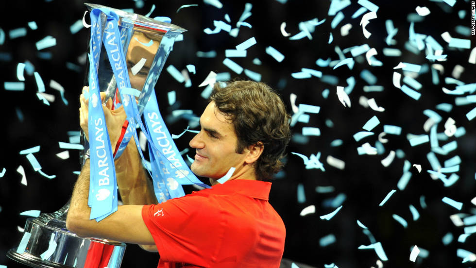 Roger Federer beat Rafael Nadal in last year's final to equal the record of five end-of-season championship titles, jointly held with Ivan Lendl and Pete Sampras.