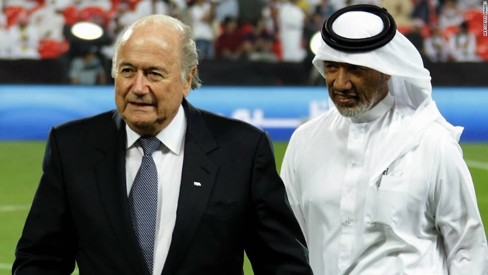 Blatter stood unopposed for re-election in July after his former ally Mohamed bin Hammam quit the race days before the ballot after being accused of offering cash for votes. The Qatari, a top FIFA official, has been banned from football.