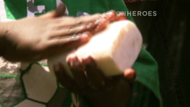 Hero honored for 'hotel soap' campaign