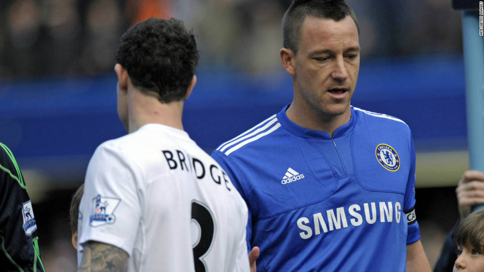 "In 2010, when England captain John Terry, who is married, was reported to have slept with the partner of his former Chelsea teammate Wayne Bridge, Blatter responded: ""If this had happened in, let's say, Latin countries then I think he would have been applauded."""