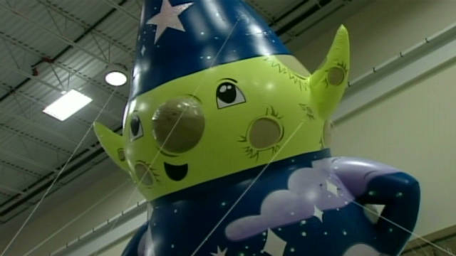 Macy's shows off new balloons for parade