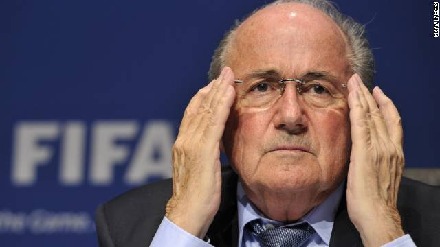 FIFA president Sepp Blatter has been the victim of hacking after his Twitter account was hijacked