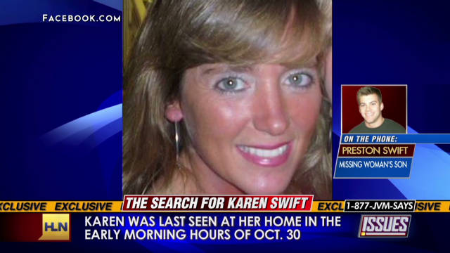 Son of missing Tennessee mom speaks
