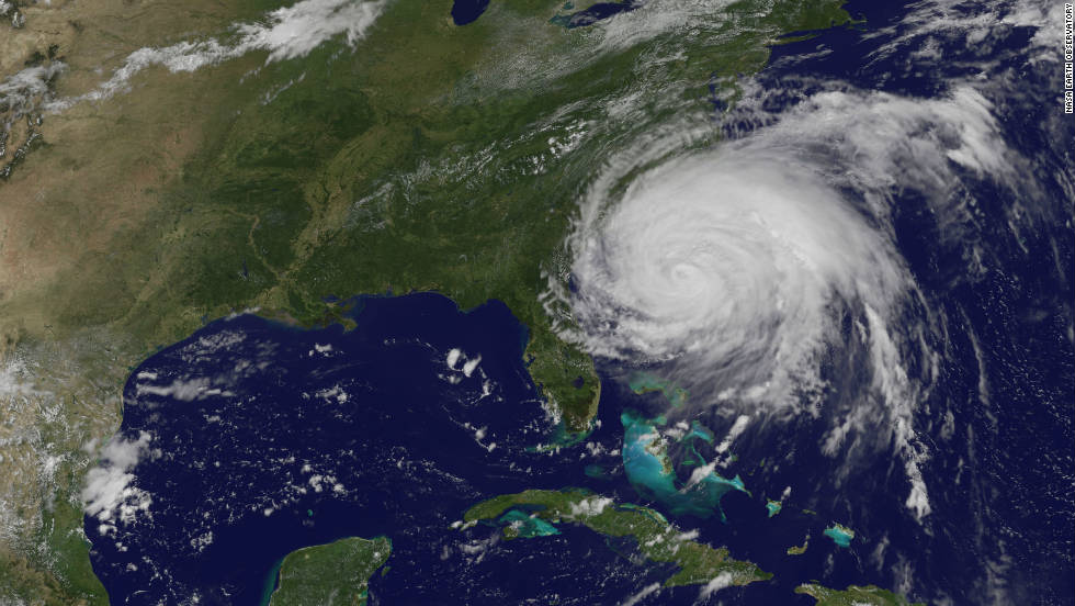 "Hurricane Irene gathers <a href=""http://news.blogs.cnn.com/2011/08/31/irene-sure-to-join-billion-dollar-disaster-club/"">speed and strength</a> as it heads towards the East Coast of the U.S. at the end of August. Tropical Storm Lee followed shortly after in early September. Both were responsible for severe flooding in the northeast region of the U.S. says the WMO."