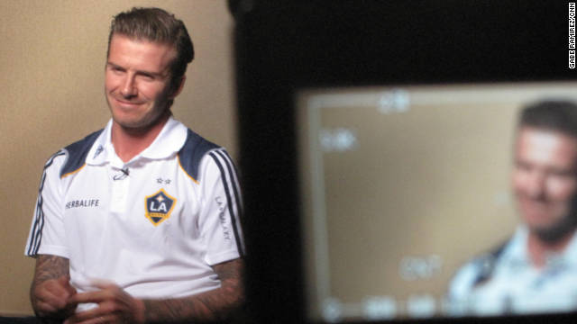 "David Beckham on comments by FIFA President Sepp Blatter: ""I think the remarks were appalling, personally."""