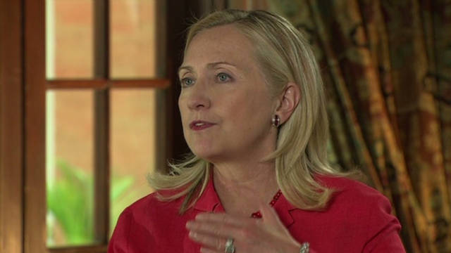 Clinton: 'Disturbing' situation in Syria