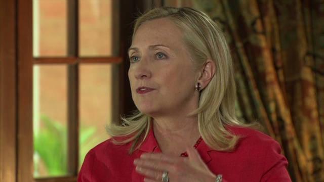Clinton: 'Disturbing' situation in Syria