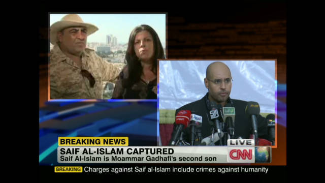 Saif Gadhafi arrested in Libya