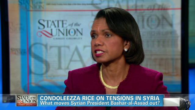 Rice: Syria the handmaiden of Iranians