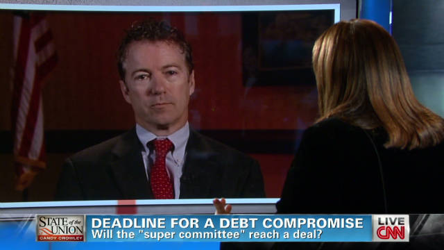 Rand Paul talks super committee