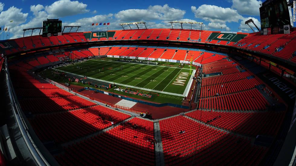 Miami Hurricanes Stadium of Miami Hurricanes Play
