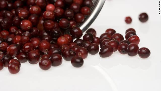 cranberries colander