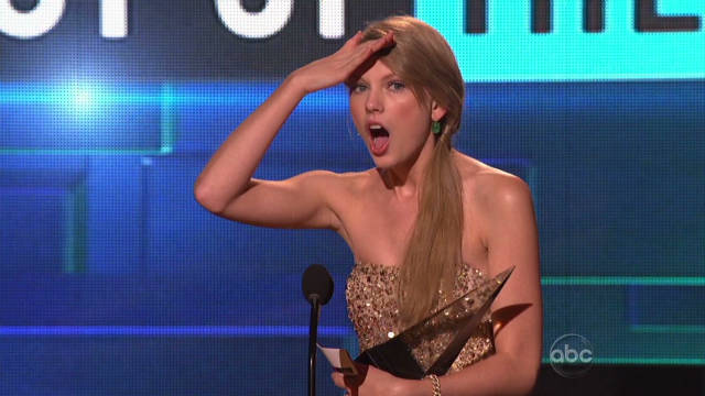 Taylor Swift takes top honors at AMAs