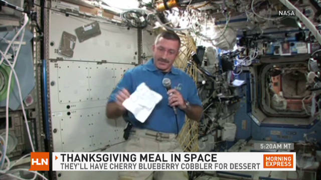 Thanksgiving ... in ... spaaaaaace!