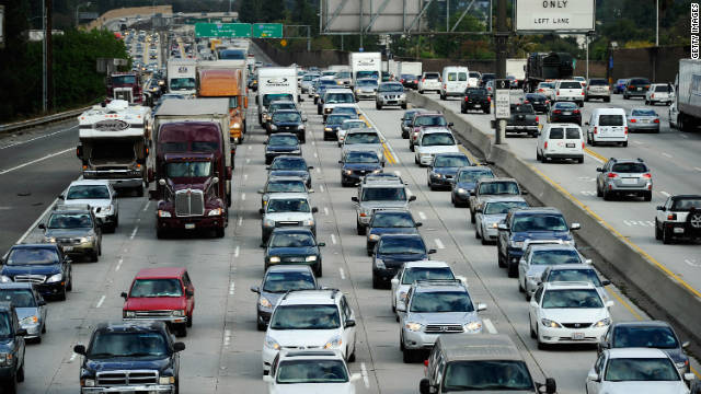 Expect lots of company on the road as millions of people take part in the Thanksgiving travel rush.
