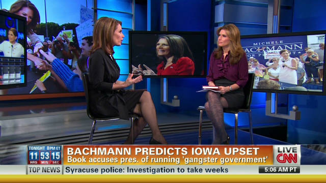 Rep. Bachmann predicts Iowa upset