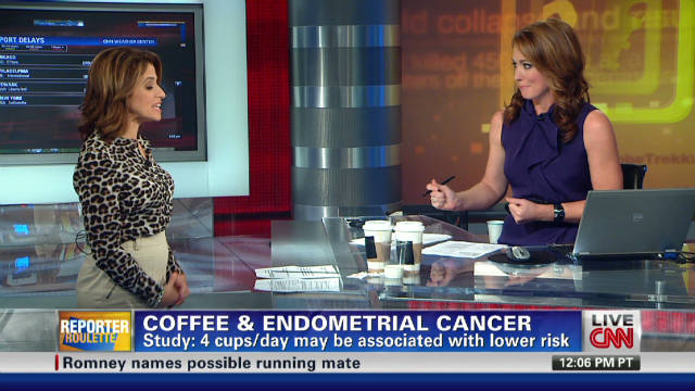 Does drinking coffee lower cancer risk?