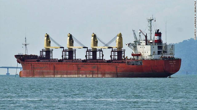 A South Korean cargo ship that sank Monday was also hijacked by Somali pirates in 2008.