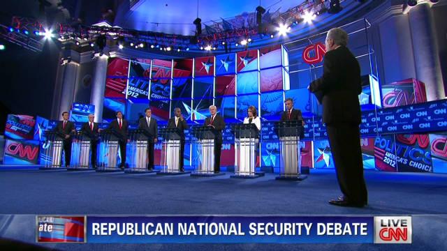 GOP candidates debate Iran strategy
