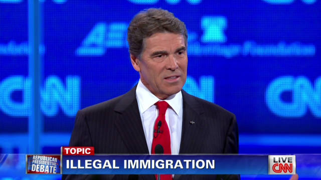 Perry: You must secure the border