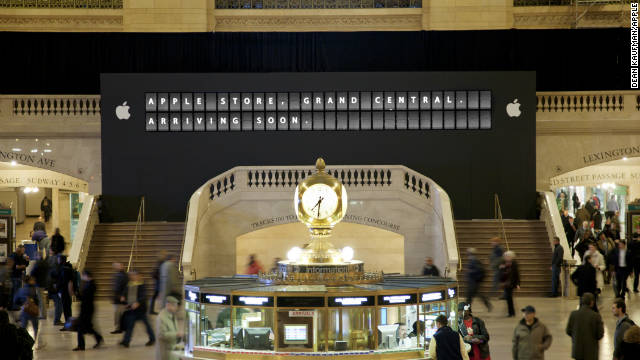 A massive Apple store is expected to open within weeks inside New York City's iconic Grand Central Station.