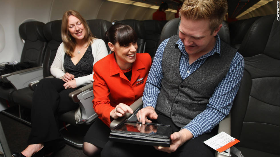 Jetstar, Qantas' low cost carrier, was the first airline to provide passengers with iPads at takeoff.