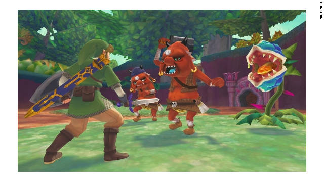 """The Legend of Zelda: Skyward Sword"" sold the most of any previous game in the series on its first day, the NPD Group says."