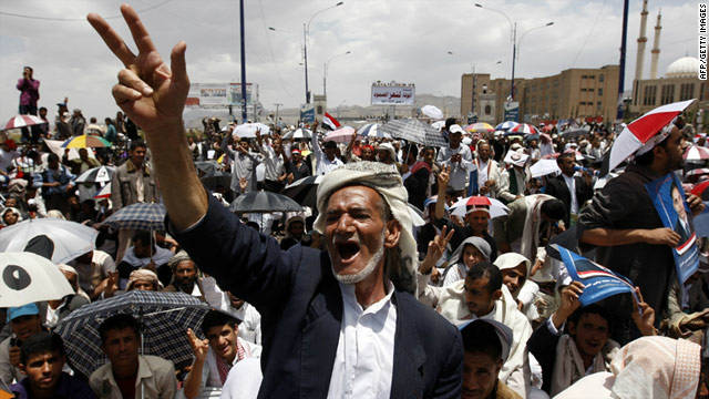 Observers say the tens of thousands of Yemeni protesters are likely to play a role in the country's future.
