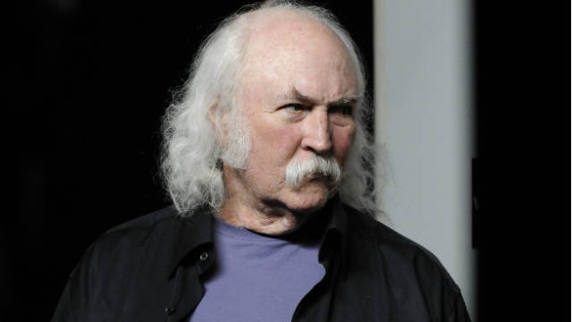 "David Crosby is one of the artists who has signed on for ""Occupy This Album."""