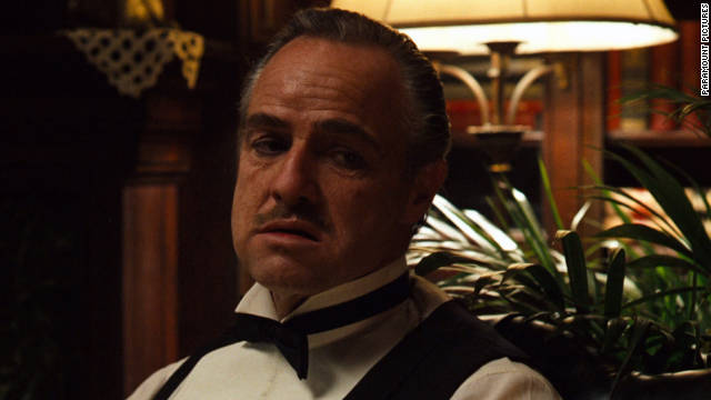 "AMC will air a marathon of ""The Godfather"" and ""The Godfather Part II"" starting at 11:30 a.m. Thanksgiving day."