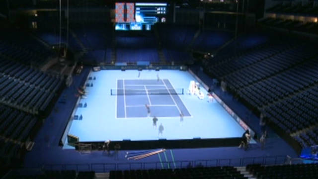 O2 prepares for World Tour Finals