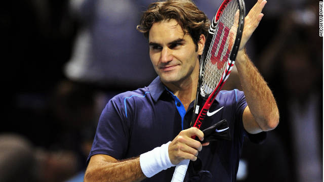 Roger Federer is seeking a record sixth title at the men's end-of-season championships in London.
