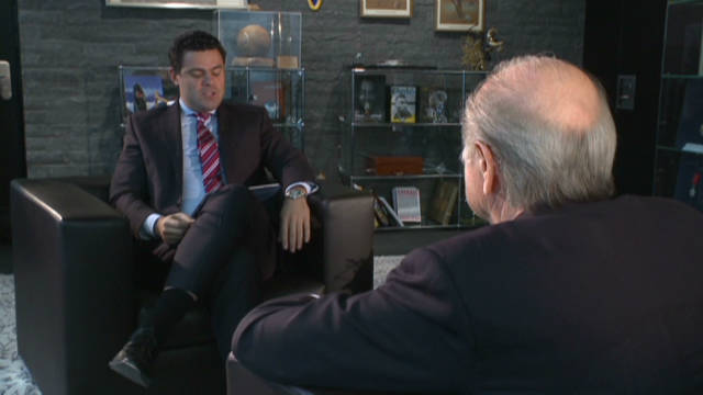 Quickfire questions with Sepp Blatter