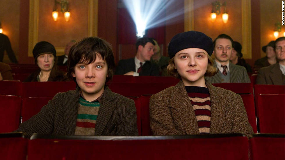 """""""Hugo,"""" directed by Martin Scorsese, stars young actors Asa Butterfield and Chloë Grace Moretz, whose characters embark on an adventure in 1930s Paris."""