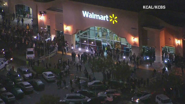 Black Friday shoppers injured