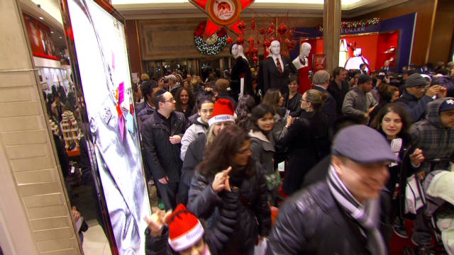 Black Friday begins at Macy's