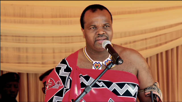 Swazi king accuses 12th wife of adultery