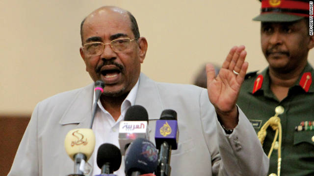 Sudanese President Omar al-Bashir  is wanted by the International Criminal Court in the Hague for alleged war crimes in Darfur.