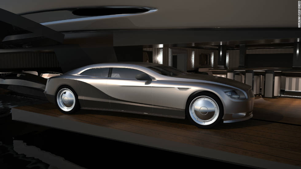 The clean lines of a limousine were the inspiration for the Sovereign.