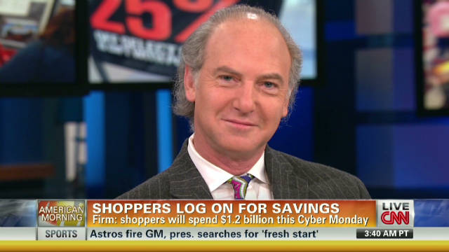 Shoppers deal hunting on Cyber Monday