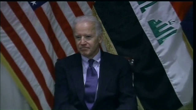 Vice VP Biden makes surprise Iraq visit