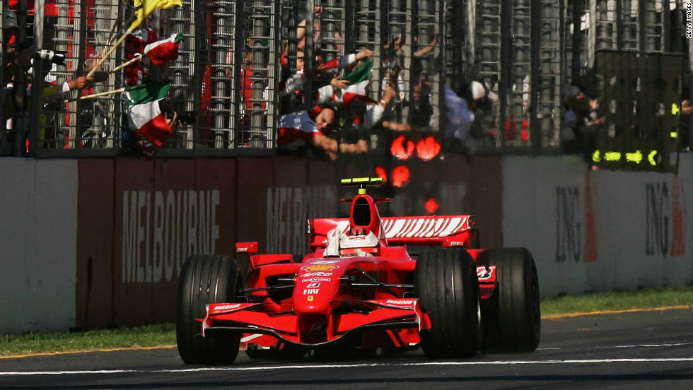Following a successful five season with McLaren, Raikkonen replaced Schumacher at Ferrari in 2007. The move immediately paid dividends as he claimed victory in his debut race for the team in Melbourne.