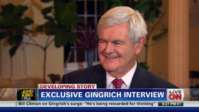 Newt Gingrich's immigration position
