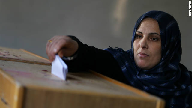 'My vote will change Egypt'