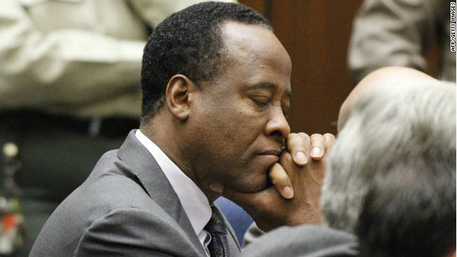 Conrad Murray was convicted of involuntary manslaughter last year for Michael Jackson's death.